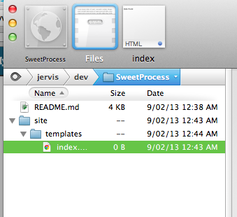 Setting up Git on Coda 2 - SweetProcess